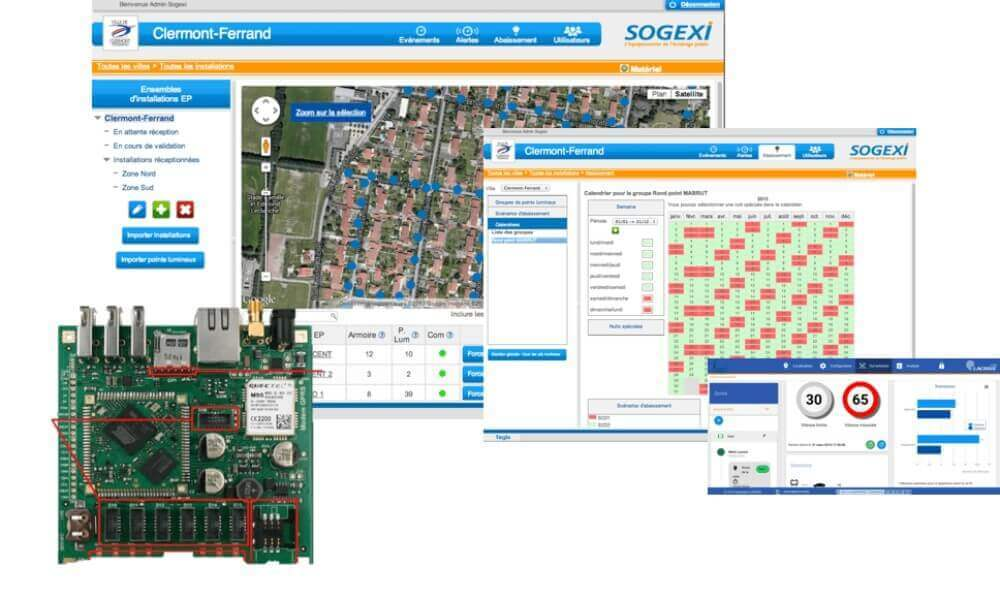 Application web de gestion smart city
