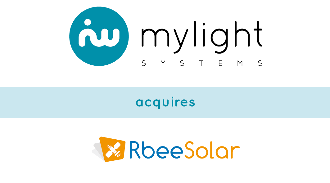 Rtone announces the sale of Rbee Solar to MyLight Systems as part of a €3 million financing plan