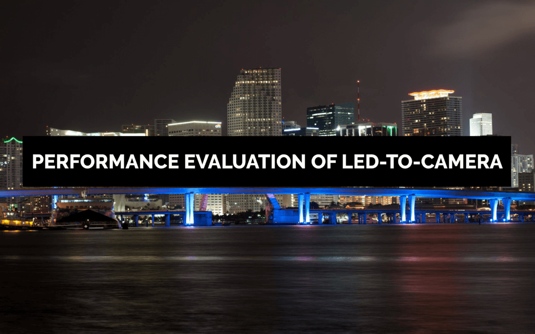 ACM MSWiM Miami – Performance Evaluation of LED-to-Camera